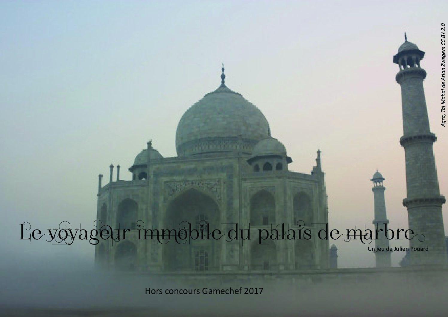 Le Voyageur immobile du palais de marbre