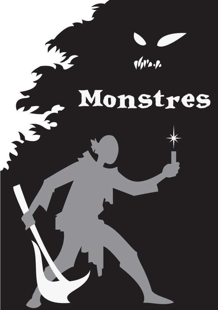 Jeu de rôle court : Monstres par Manuel Bedouet