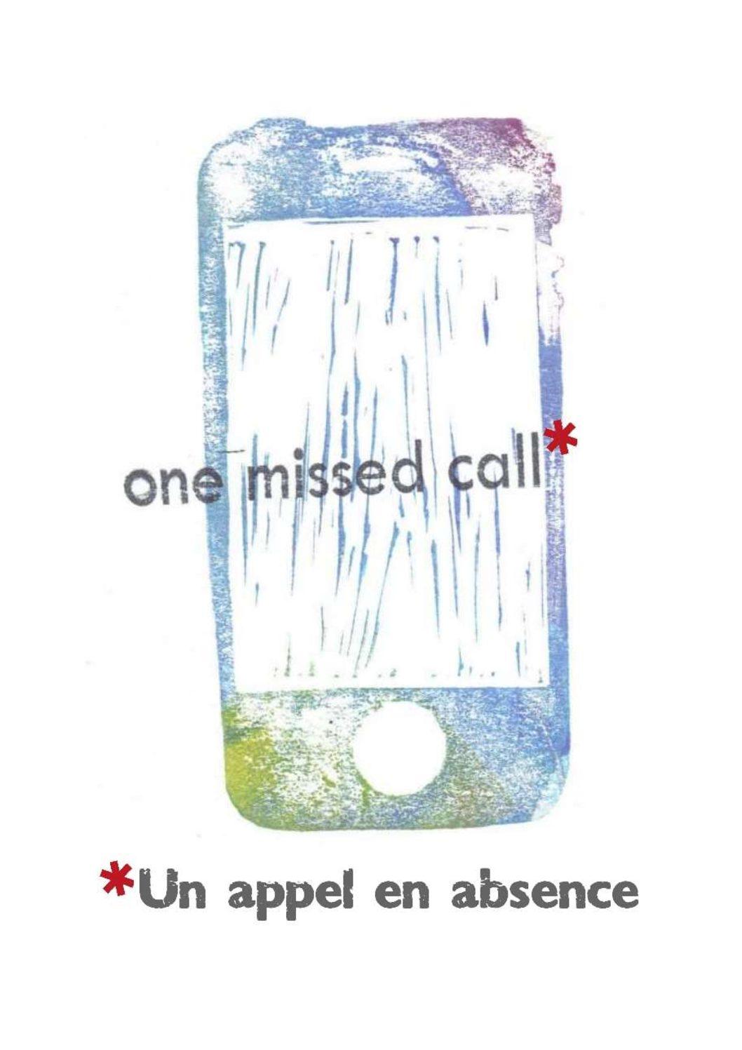 Un appel en absence