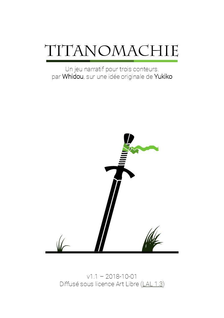 Jeu de rôle court : Titanomachie par Whidou