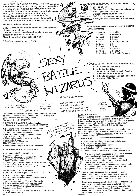 Sexy Battle Wizards (Version Française)